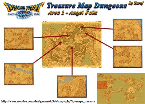 all the important locations throughout the quest dragon quest ix sentinels of the starry skies area 01
