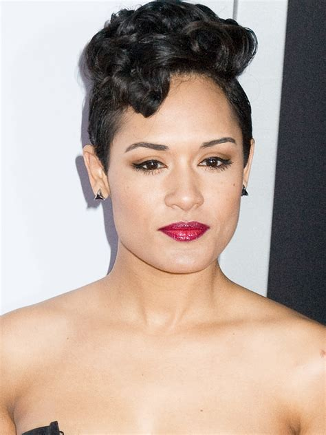 empire stars with short hair grace gealey photos and pictures tv guide