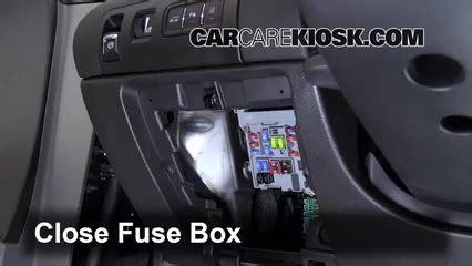 interior fuse box location   chevrolet impala  chevrolet impala lt   flexfuel