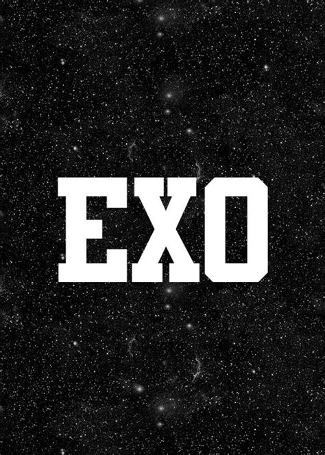 exo wallpaper with name 18 best exo logo images on pinterest backgrounds kpop