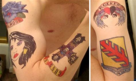 axl rose tattoos fimho