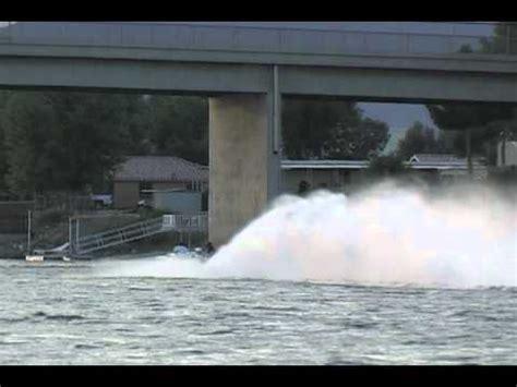 boat jet wash jet boat bridge wash down youtube