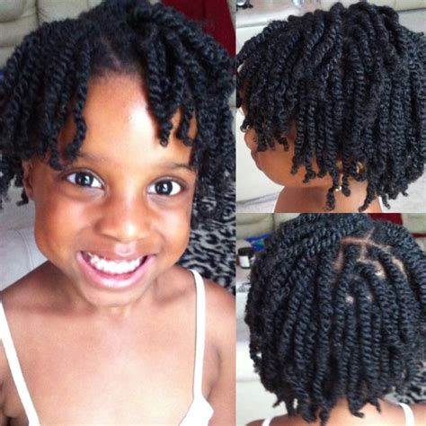double hair strand double strand twist natural hair short hairstyle 2013