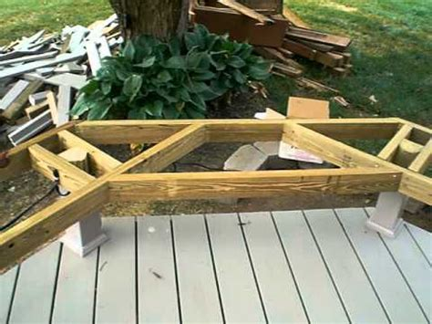 how to build a deck bench seat what can you make with old wooden pallets kit boats for