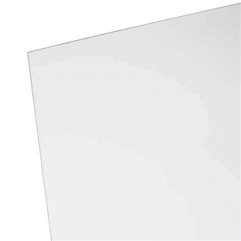 clear plastic sheet for table top 48 in x 96 in x 1 8 in acrylic sheet mc 100 the home