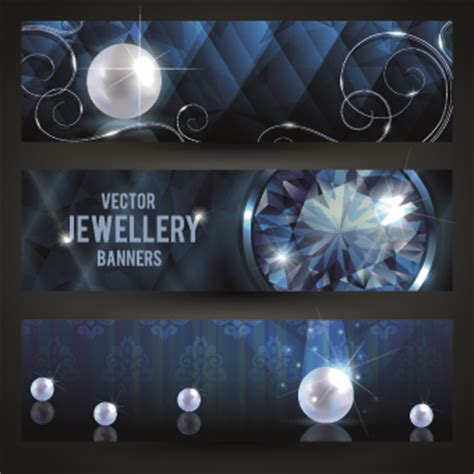 banner design for jewellery luxury jewellery banners design vector 02 vector banner