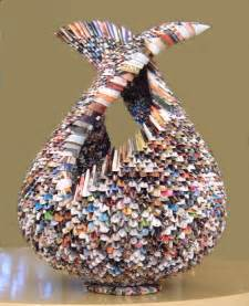 Things Made Out Of Recycled Materials by Gallery For Gt Cool Things To Make Out Of Recycled Materials