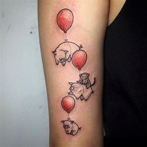 pig tattoos pictures designs meanings  ideas