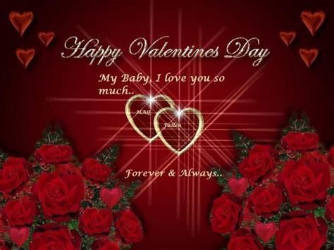 i you baby happy valentines day happy valentines day my baby
