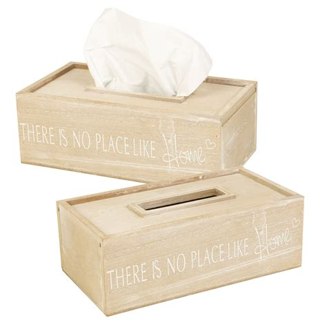 tissue holder wooden white washed tissue box holder cover dispenser