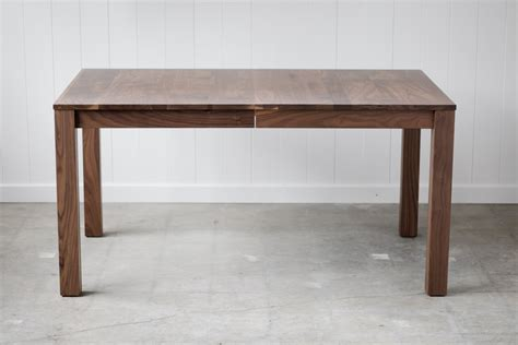 Parsons Dining Table Parsons Dining Table Solid Walnut Extension Table Seats 10