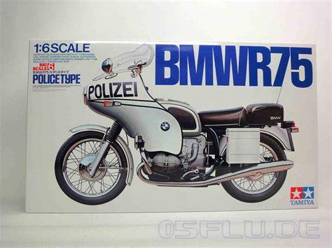 Polizei Motorrad Hersteller by Tamiya 1 6 16006 Bmw R75 5 Polizei Motorrad 1970