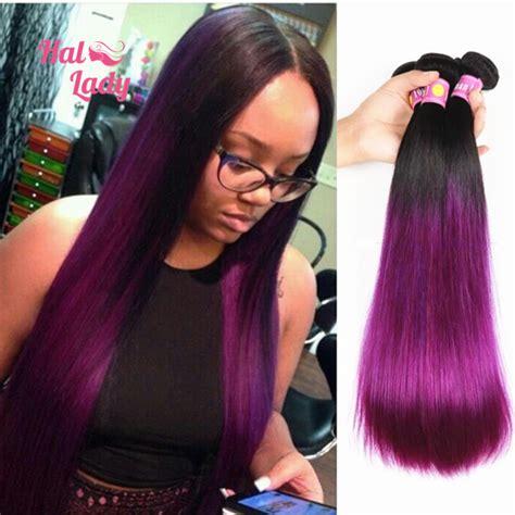 weave hairstyles with purple tips achetez en gros violet armure en ligne 224 des grossistes