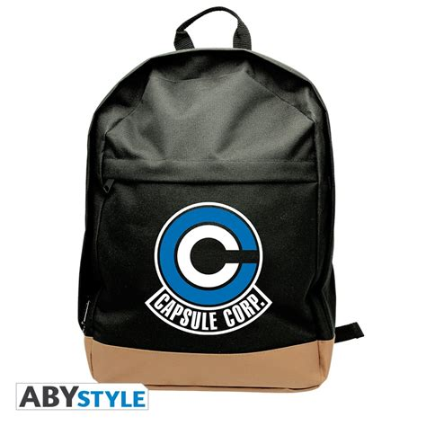 Polyester Backpack 1746 z backpack capsule corp abystyle