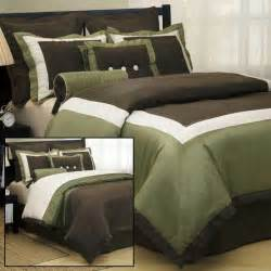 bedding sets annabella fine bedding olive and brown
