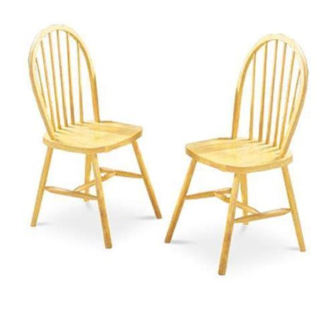 wooden dining chairs ebay