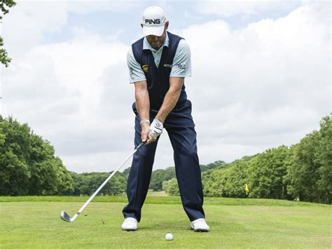 golf swing ball lee westwood stance and ball position tips golf monthly