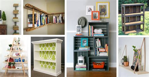 bookshelf ideas diy 26 best diy bookshelf ideas and designs for 2018