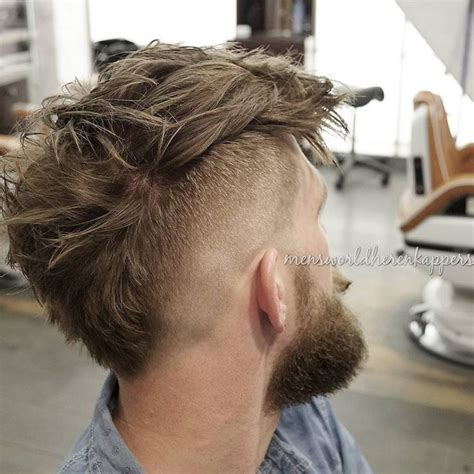 mohawk hairstyles ll eaving hair at back of 1000 ideas about mohawk hairstyles men on pinterest