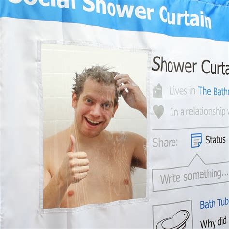 social media shower curtain social media shower curtain thinkgeek