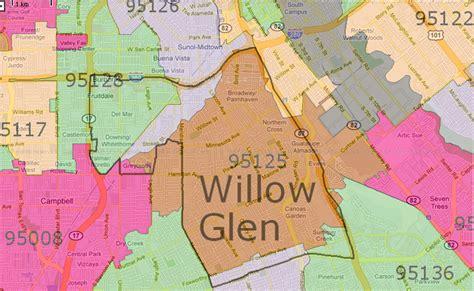 san jose zip code map homes for sale willow glen willow glen map