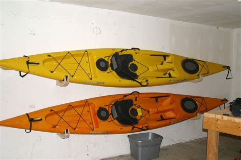 Kayak Shelf by Kayak Storage Kayaking Maryland