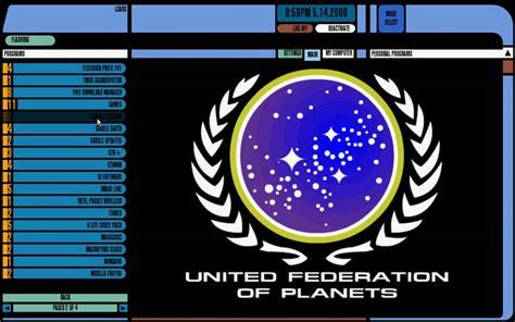 lcars  star trek windows shell interface weekly