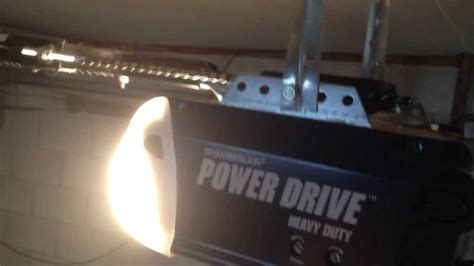 Chamberlain Power Drive Garage Door Opener Issue Opening A Garage Door With No Power