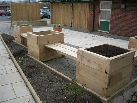 Gardens With Railway Sleepers by Waterside S Sensory Garden And Patio With New Railway