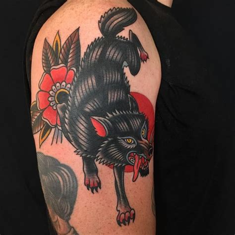 japanese wolf tattoo 57 wolf designs for and with meaning