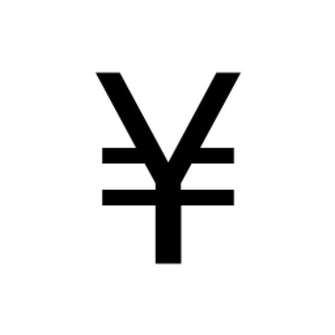 currency jpy japanese yen currency symbol