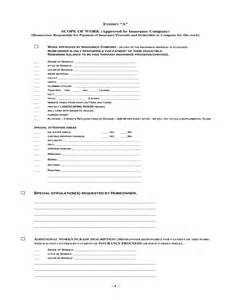 free residential roofing contract template roofing agreement free