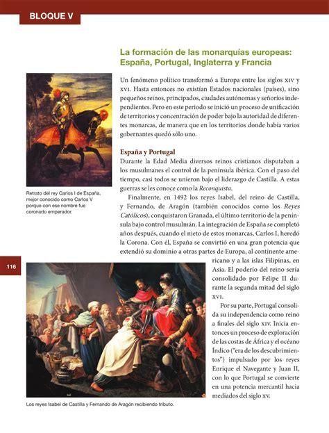 pagina resuelta 117 del libro de historia historia sexto grado 2016 2017 online libros de texto