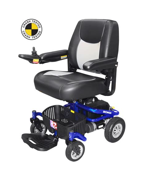 Back Pack Chairs Roma Reno Ii Captain Power Chair