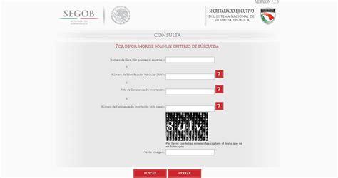 repuve consulta gratis en linea autos robados en mexico repuve consulta gratis en linea repuve consulta placas