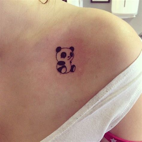 tattoo panda girl 36 best cartoon panda tattoo images on pinterest cartoon