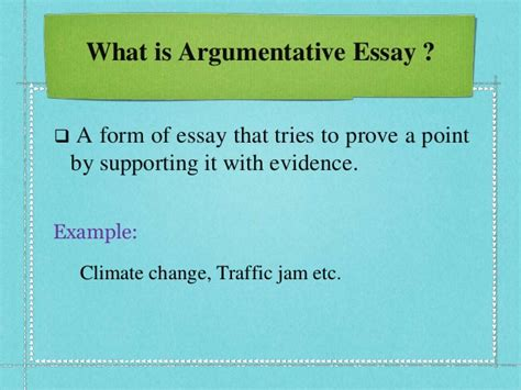 What Is Argumentative Essay by Difference Between Argumentative Essay Narrative Essay By Samsujjam