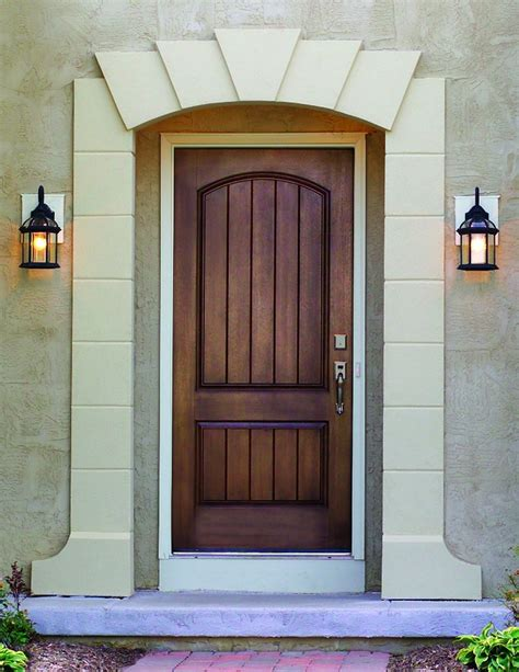 How To Stain A Fiberglass Door by Dulley Column Color Graphics