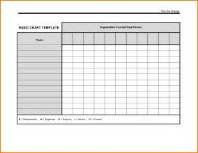 Blank Program Template by Blank Chart Template Selimtd