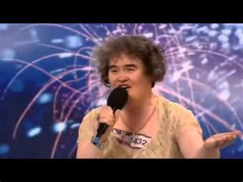 susan boyles first audition i dreamed a dream britain susan boyle first audition i dreamed a dream youtube