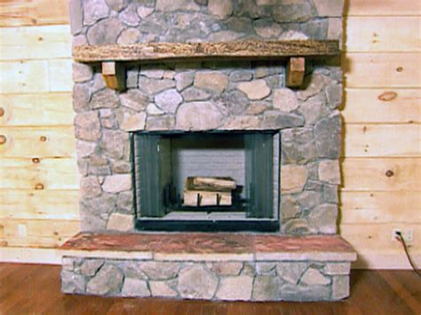 how to stone a fireplace how to create a stone fireplace how tos diy