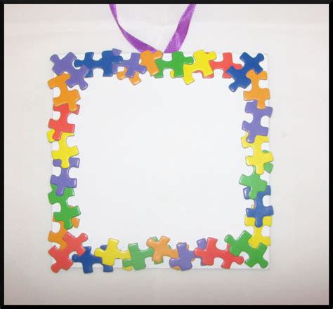 picture frame craft puzzle photo frame craft kit for 32 sturdy