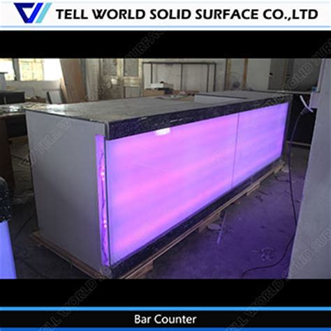 Commercial Bar Tops For Sale China 150 Kinds Design Led Small Commercial Juice Bar