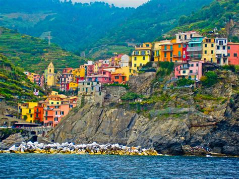 Small Town Charm by The Cinque Terre Italy World For Travel