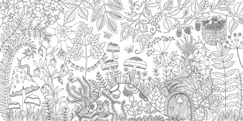 secret garden coloring book in stores enchanted forest coloring pages printable coloring page