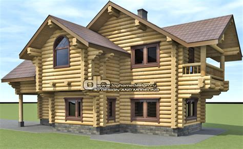 log home 3d design software prices for log house design and 3d modeling denissov