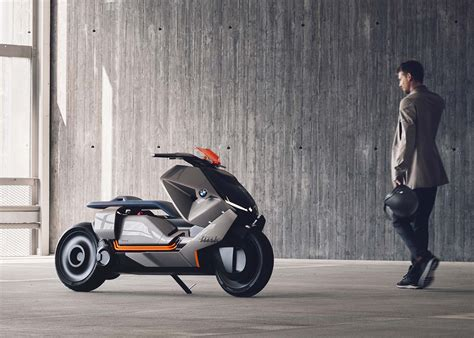 Bmw Motorrad Electric by Bmw Motorrad Concept Link Electric Scooter