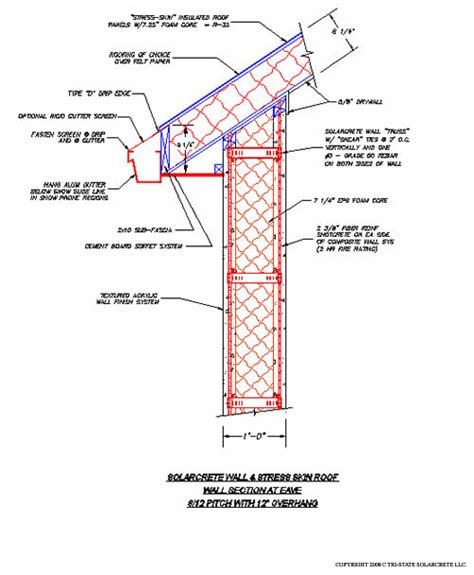roof section detail wood trusses sips roof attachment design details to