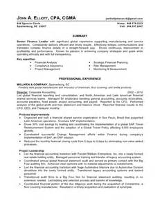 Big 4 Resume Sle by Elliott A Resume May 2012