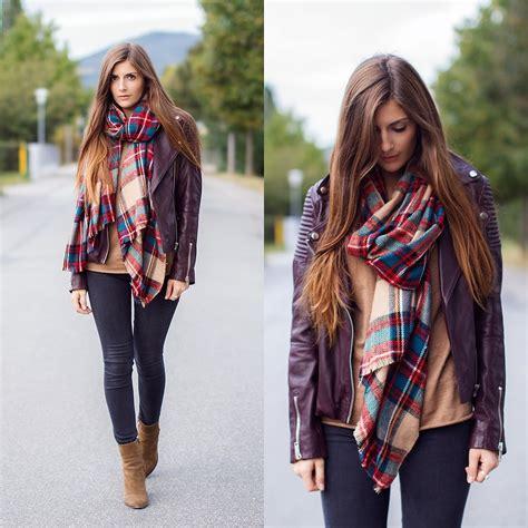 fashionista now how to wear tartan scarves fashion
